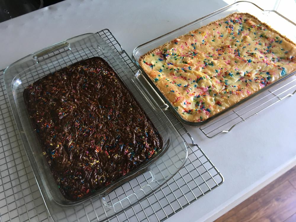 Miss Kathy's Brownies & Ooey Gooey Cake