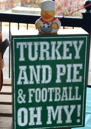 Turkey Pie Football Oh My!