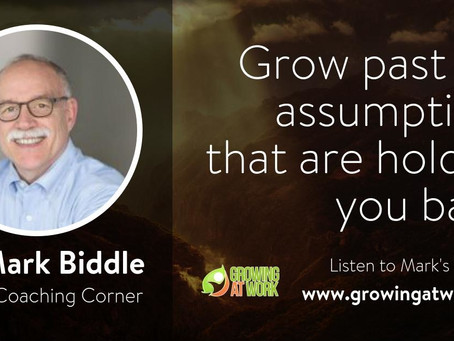 Dr. Mark Biddle – Working Through Assumptions That Hold You Back