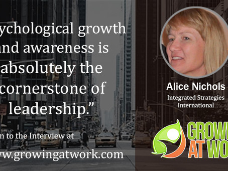 Alice Nichols – Leaders, Need to Increase Awareness of Our Bias