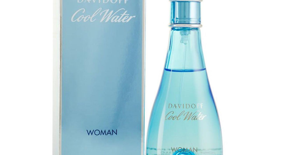 Davidoff Cool Water Woman Eau Deodorante Natural Spray EDT