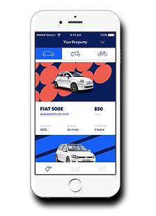 Envoy mobile app, electic fleet
