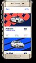 Samsung App Fiat Rental With Dropshadow.