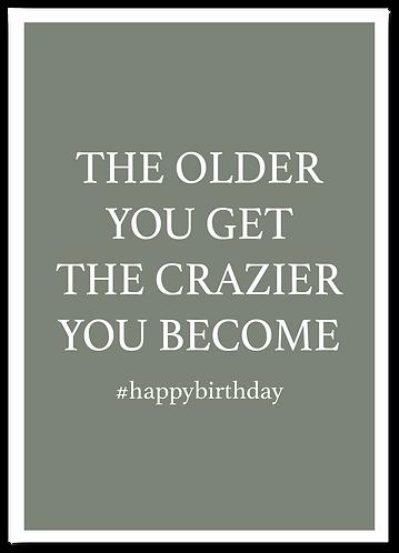 Wenskaart Verjaardag quote grappig