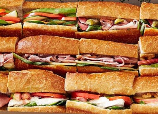 Gourmet Baguette Sandwiches