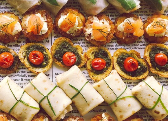 Cold Canape Package (Min. order 12)