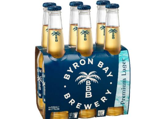 Byron Bay Lager Bottle - 355mL