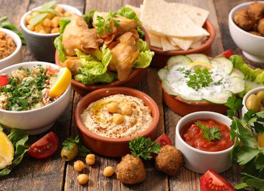 Salsa and Dips Platter (V)
