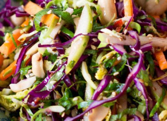 Asian Chicken Coleslaw Salad – Gluten-Free