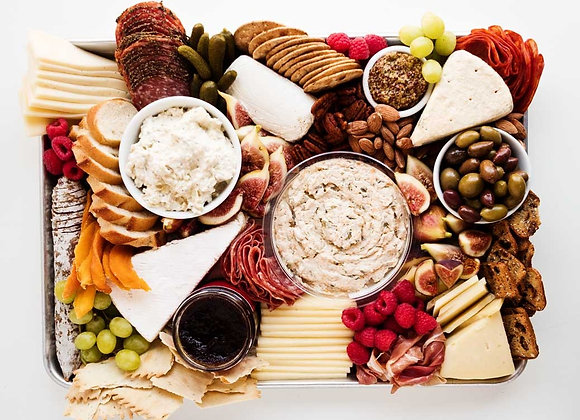 Cheese and Dips Platter
