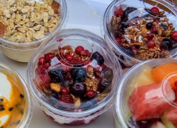 Yoghurt and Fruit Cup - 8oz (V)