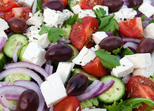 Traditional Greek Salad (V) (GF)