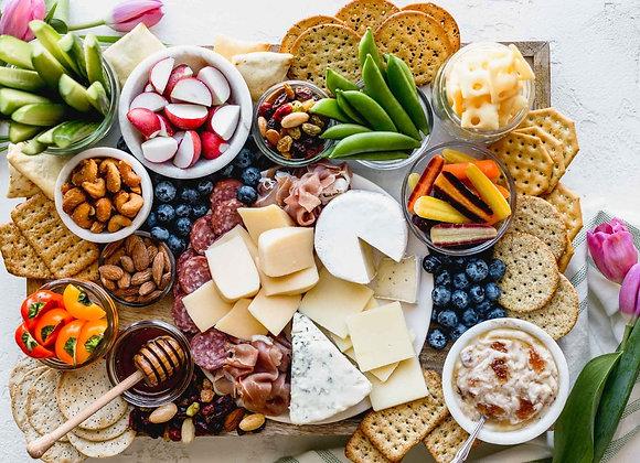 Cheese, Cabanossi & Chorizo Platter