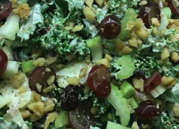 Kale and Waldorf Salad (V)(GF)