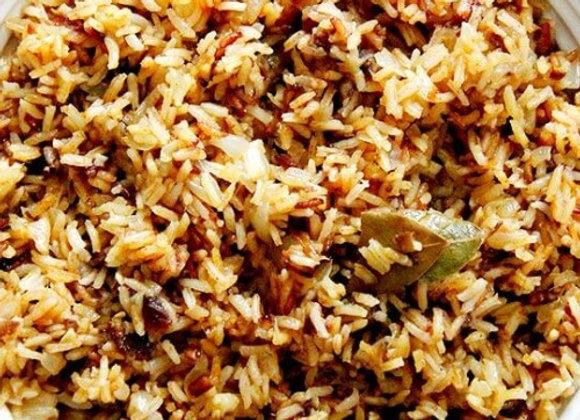 Moroccan Brown Rice Salad (VG) (GF)