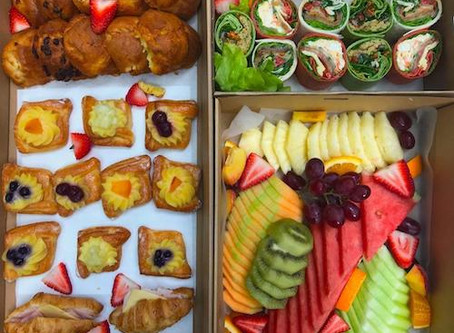 All day catering ideas