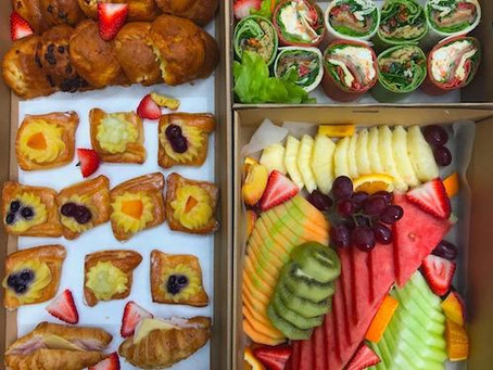All day corporate catering ideas