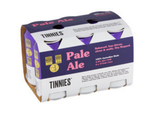 Tinnies Pale Ale Can - 375mL