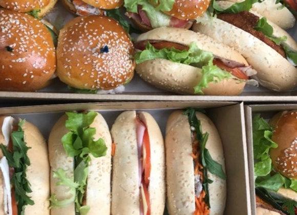 Mini Bun, Baguette & Bagel Pack