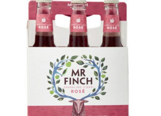 Mr Finch Cider Rose Bottle - 330mL