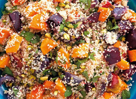 Roasted Vegetables and Couscous Salad (VG)
