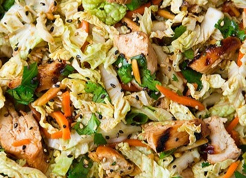 Sesame Chicken Salad (GF)