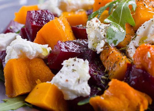 Beetroot and Pumpkin Salad (V) (GF)