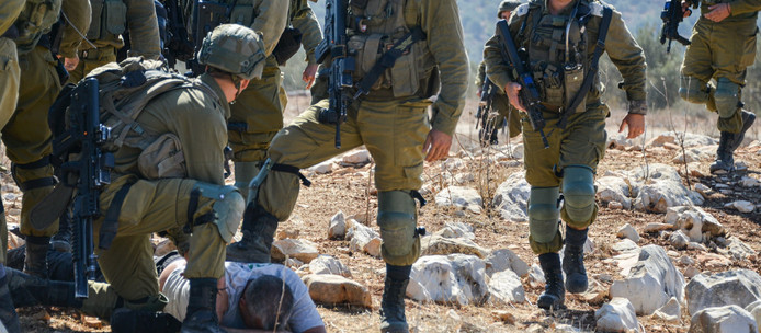 שטח צבאי סגור. קודש הקודשים הפך לכלי משחית בשטחים
