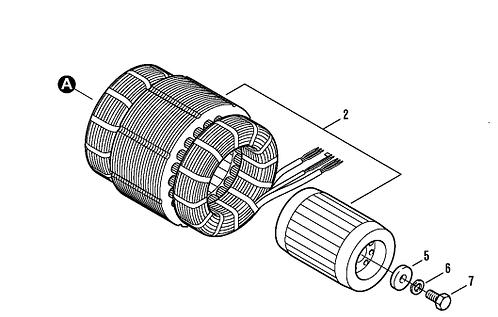 Bitzer 2JC-07.2Y (2JES-07Y) Dahili Motor