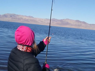 Pyramid Lake Fishing Report for December 18th, 2017