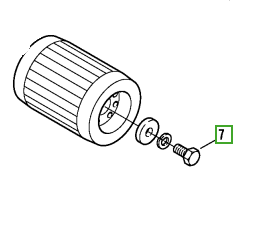 Bitzer 2JC-07.2Y (2JES-07Y) Altıgen Başlı Vida