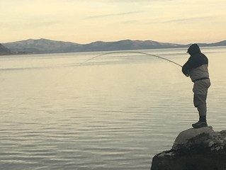 Pyramid Lake and Truckee River Fishing Report for January 2, 2018