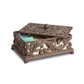 Acanthus Tea Box, 5 Ceramic Ho