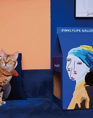 「BIG ARTISTS」 CAT HOUSE&SCRATCHER