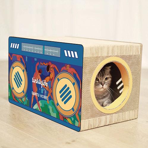 「RADIO STYLE」CAT HOUSE&SCRATCHER