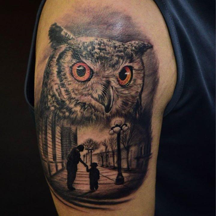Tatuaje en _inkedtattooshop _WhatsApp 3173775667_Productos _mundoskink __colombiaink_Con maquinas #P