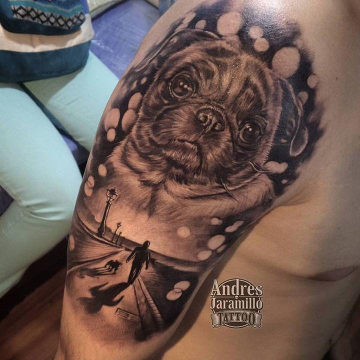 Tatuaje en _inkedtattooshop _Whatsapp 3173775667__mundo_skink __colombiaink_Con maquinas #PantherRot