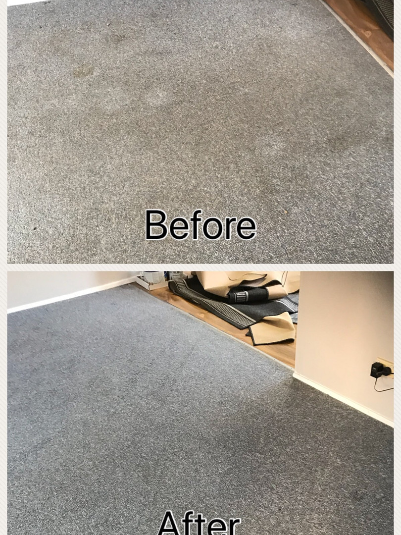 How to clean stained carpet