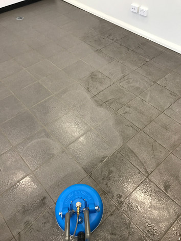 Commercial Tile & Grout Cleaning Service