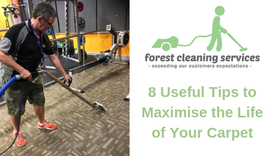 Useful tips to maximise the life of your carpet | Forest Cleaning Services