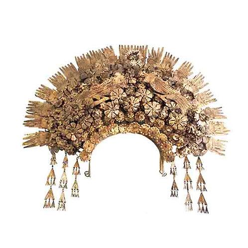 Sumatra Wedding Vintage Crown