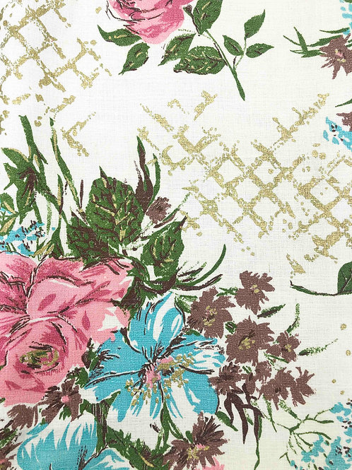 Hawaiiana Vintage Fabric