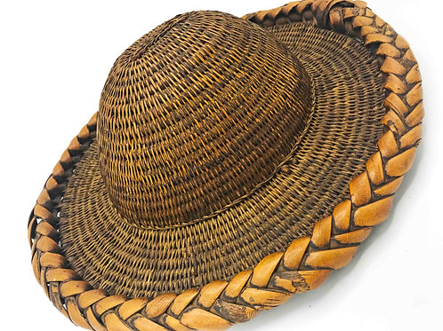 Nepalese Vintage Hat Used in Rice Fields