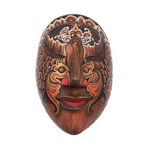 Red Vintage Balinese Mask