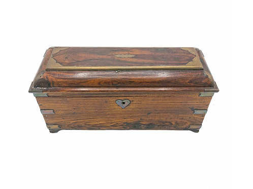 Wood Anglo Raj Antique Box