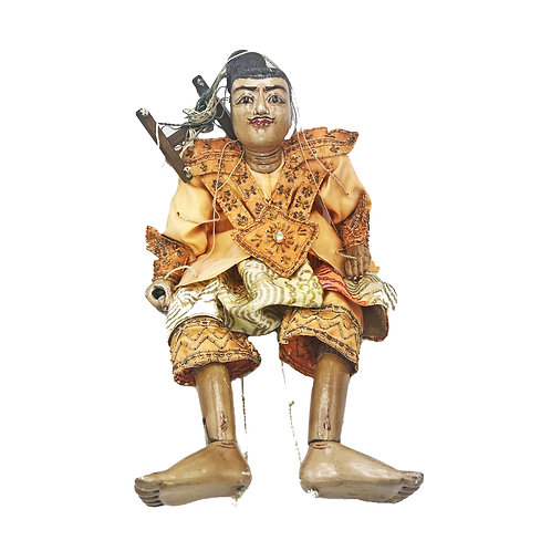 Burmese Marionette Vintage Puppet