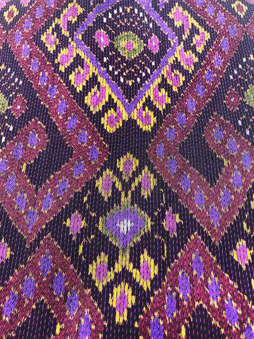 Hand-loomed Thai Silk Fabric