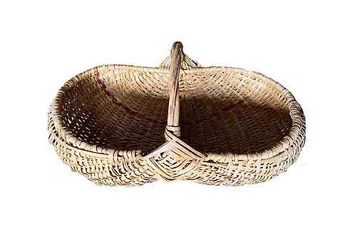 Jamaican Handcrafted Vintage Basket