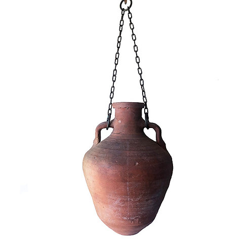 Pottery Hanging Antique Jug