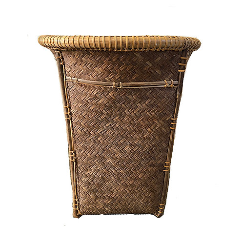 Three Indonesian Bamboo Baskets